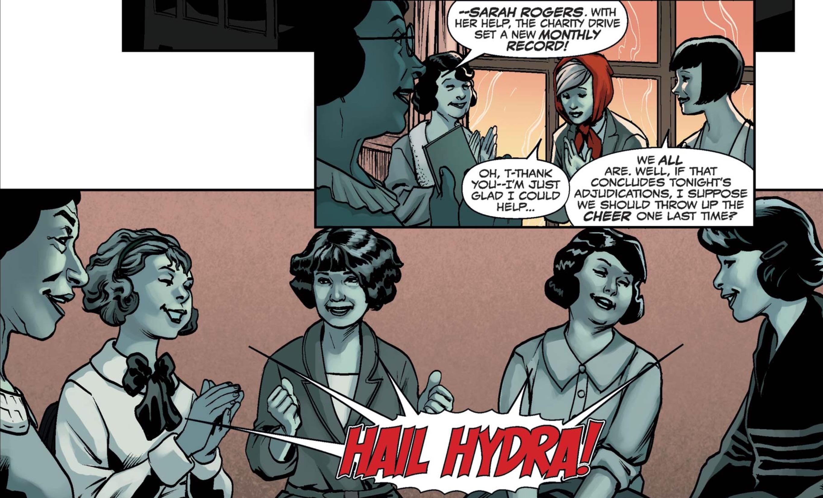 Captain America: Steve Rogers #3 - hail Hydra