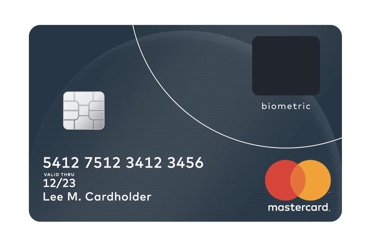 Mastercard's new credit card has a built-in fingerprint scanner ...