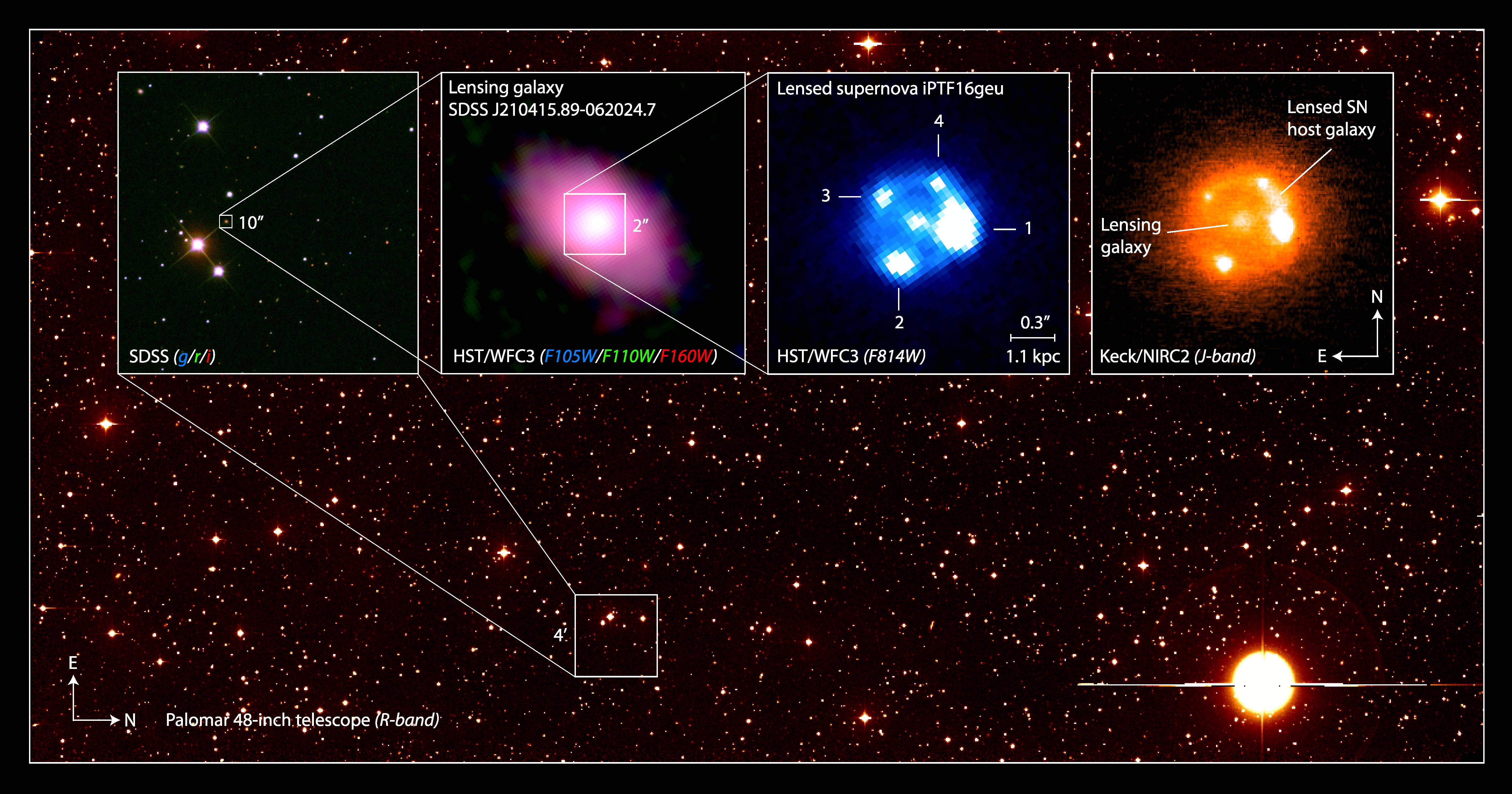 Astronomers Get Rare View Of Type Ia Supernova Magnified 50 Times
