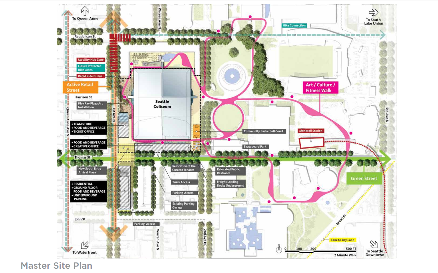 vision for seattle partners keyarena renovation and traffic 1 of 26