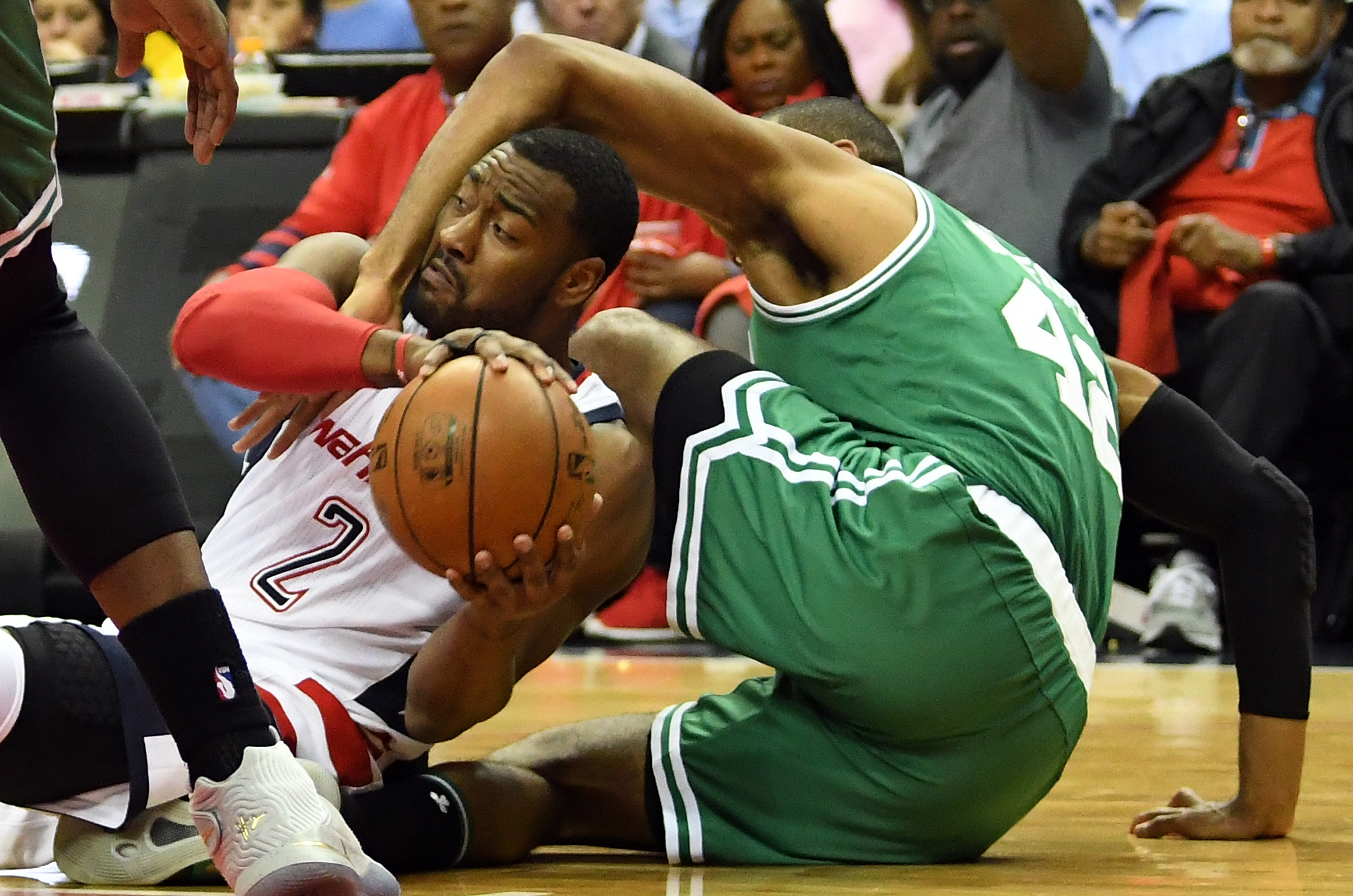 John Wall three-pointer sees Washington Wizards take Boston Celtics the distance