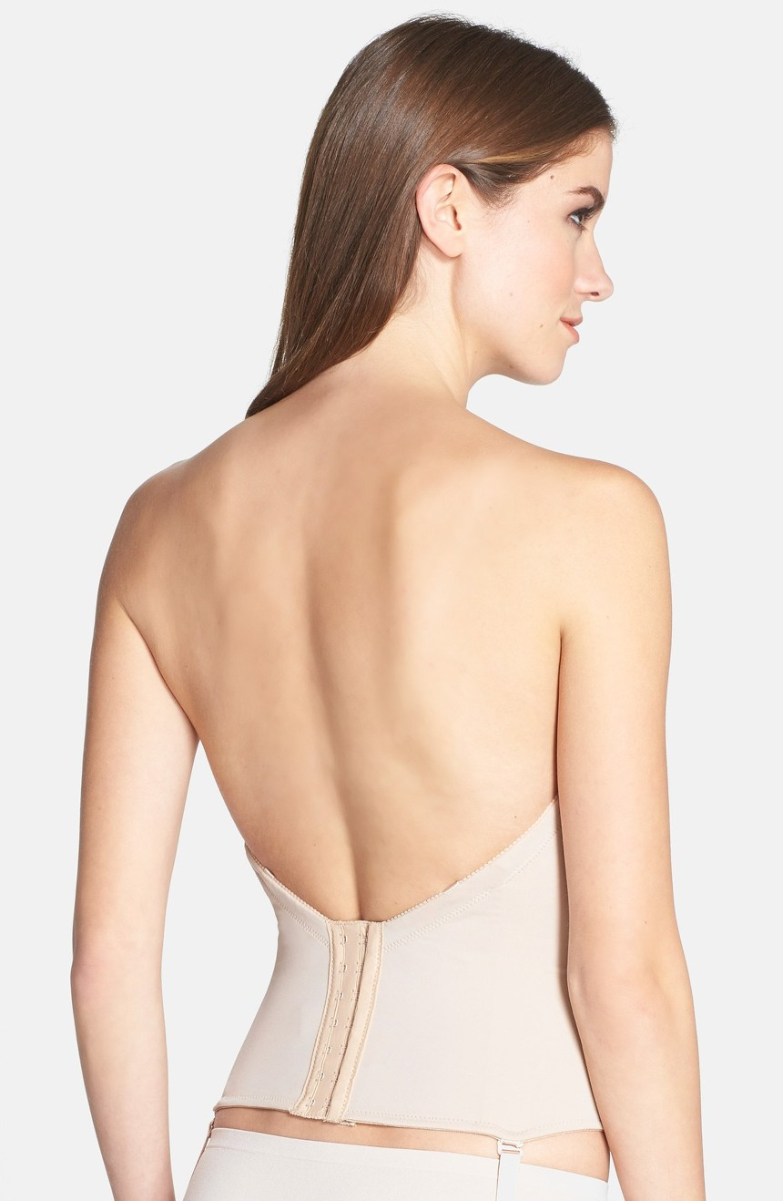 Low back strapless push up bra images for What to wear under strapless wedding dress