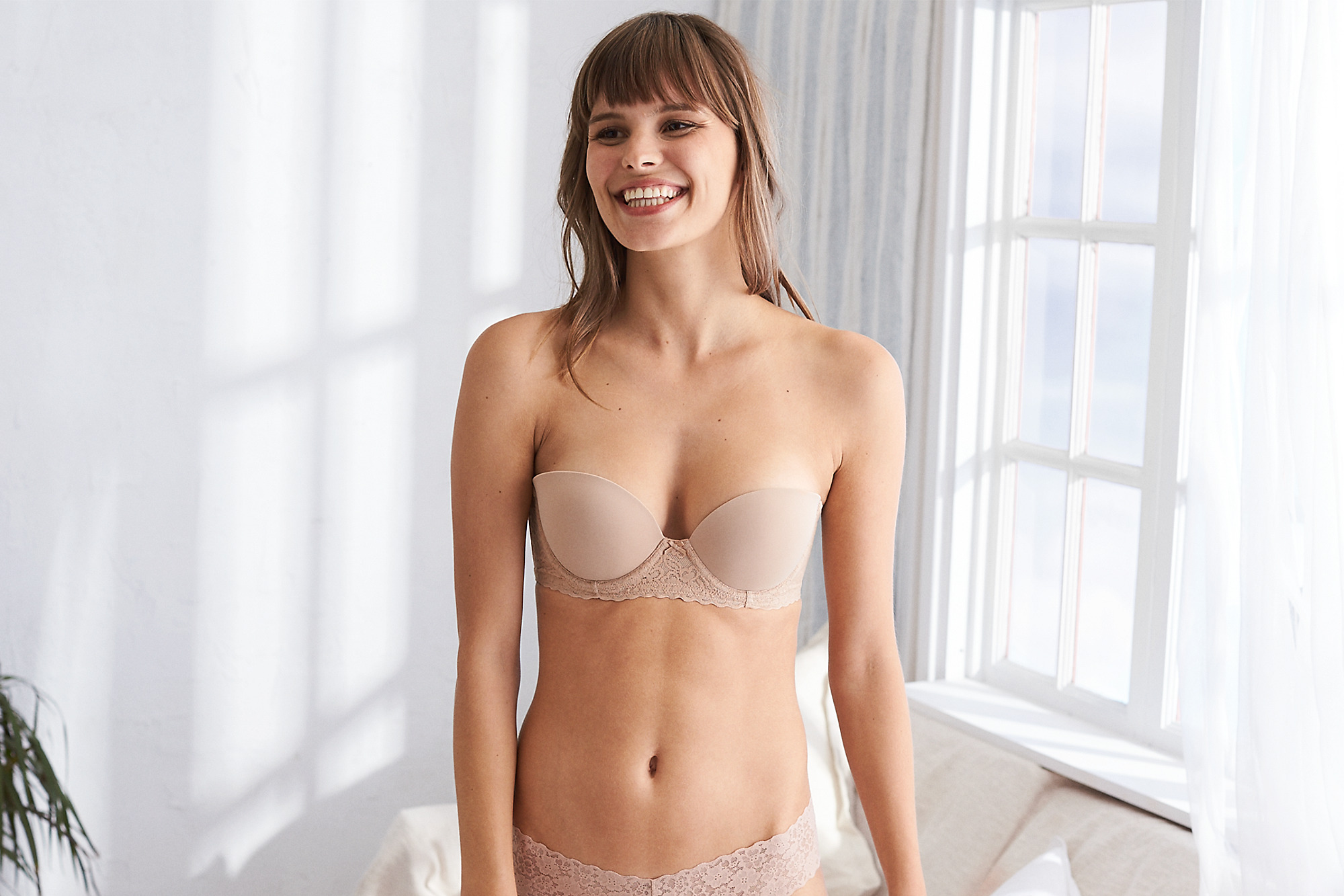 Merveilleux American Eagle Summer Strapless Push Up Bra, $28
