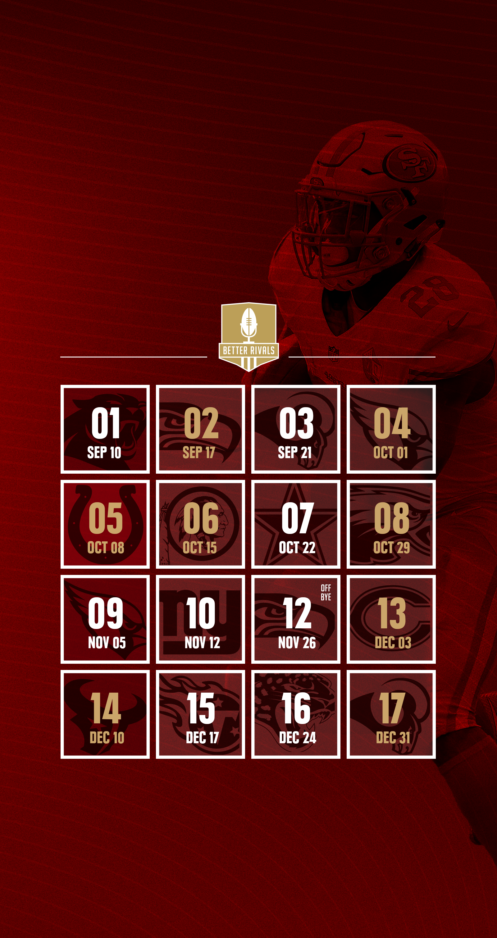 49ers 2017 schedule wallpapers for iphone android desktop 1 of 7 voltagebd Image collections