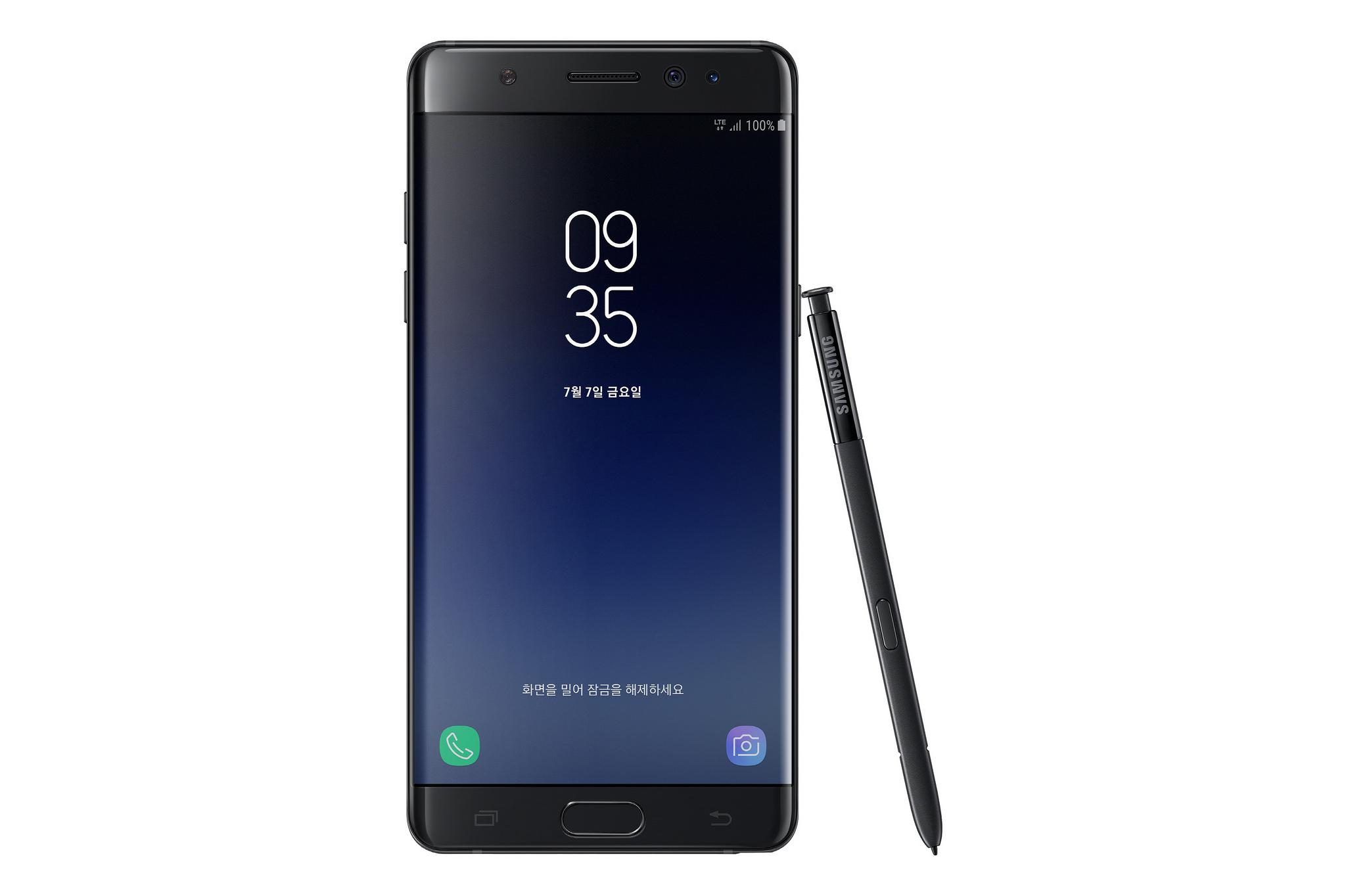 Samsung S Galaxy Note Fan Edition Is A Refurbished Galaxy