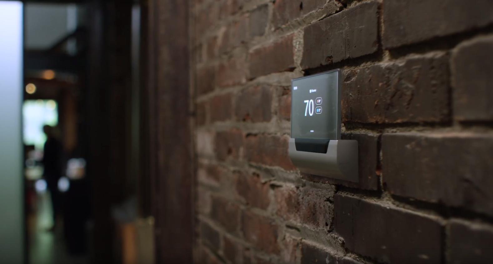 Microsoft Unveils A Beautiful Cortana Powered Thermostat