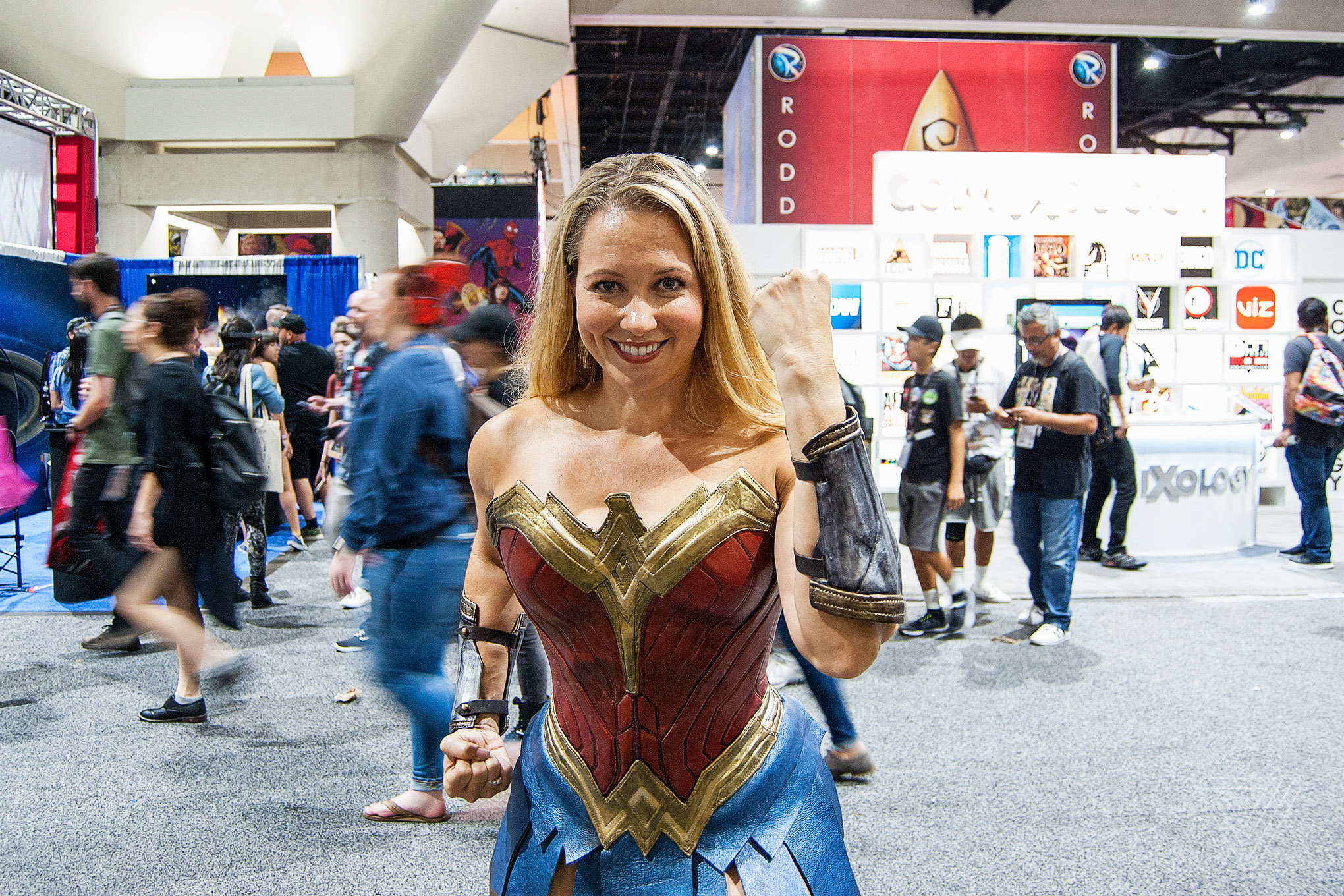 The Popularity Of Wonder Woman Cosplay At Comic Con Is A