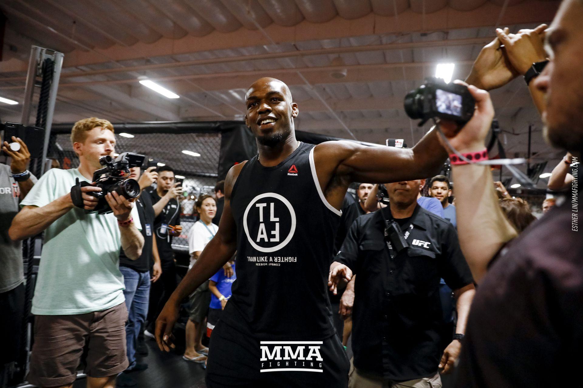 UFC 214 open workout photos
