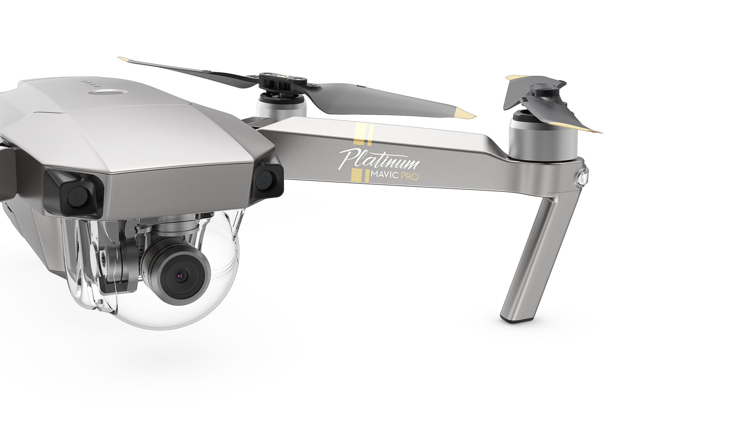 DJIs New Mavic Pro Platinum Is Quieter And Stays In The