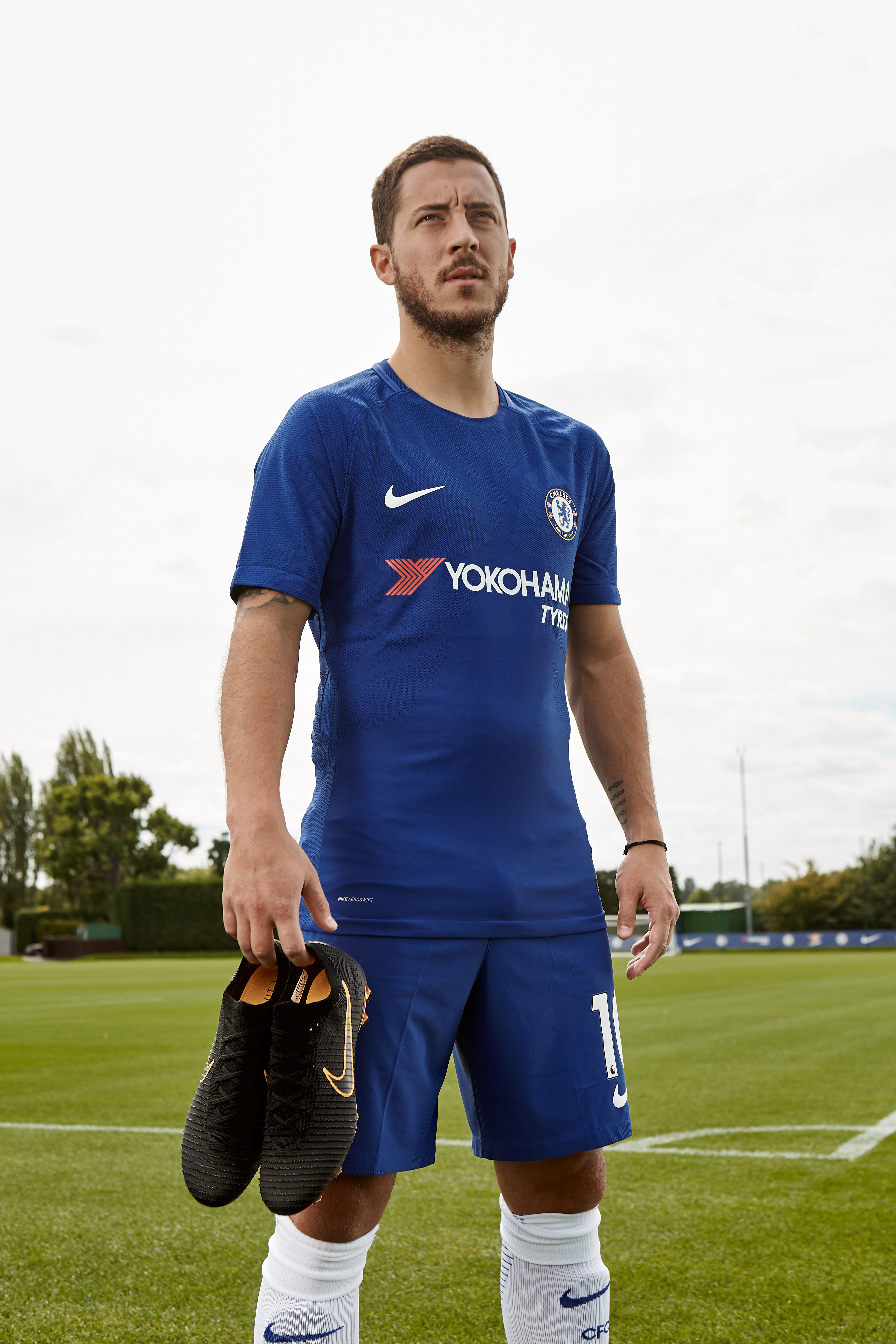 62392d895 Eden Hazard's brand new Nike Mercurial Ultra Flyknit Vapor boots |  promotional images from: Nike