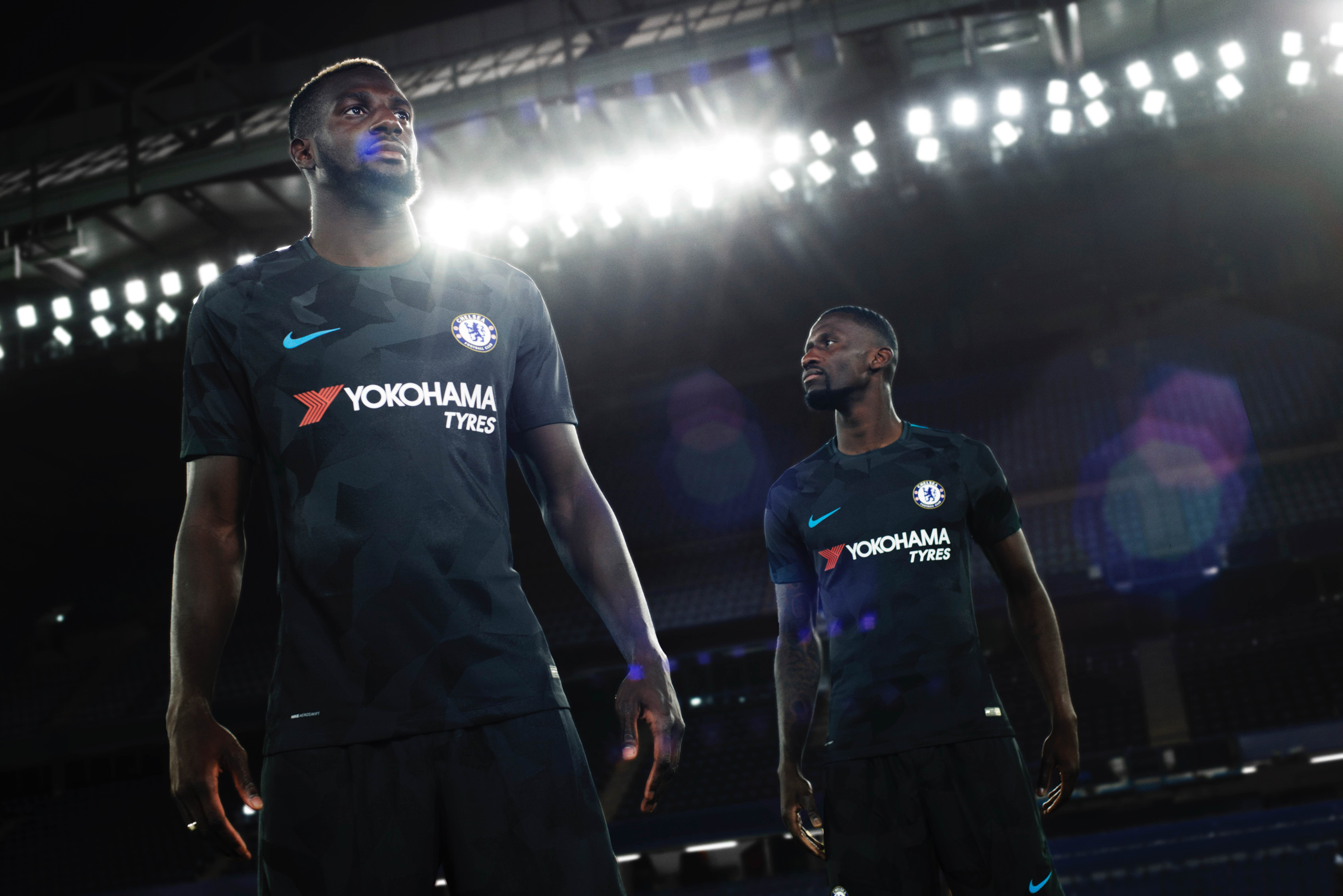 sneakers for cheap 09bbb 64169 New Nike Chelsea 2017-18 third kit officially unveiled - We ...