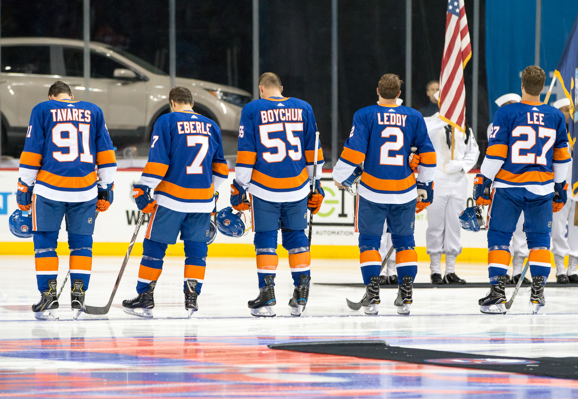 Islanders Devils Preseason Game Barclays Center Brooklyn Sept 25 2017 Photo By Kevin Schultz Schultzimages