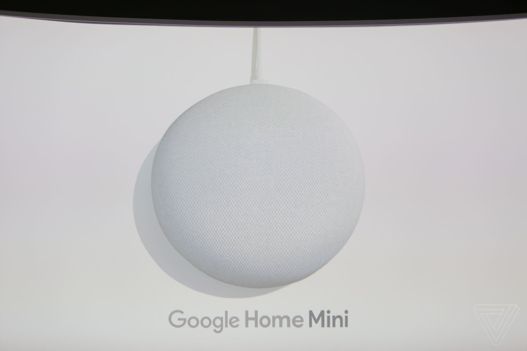 49 google home mini announced to compete with amazon s. Black Bedroom Furniture Sets. Home Design Ideas