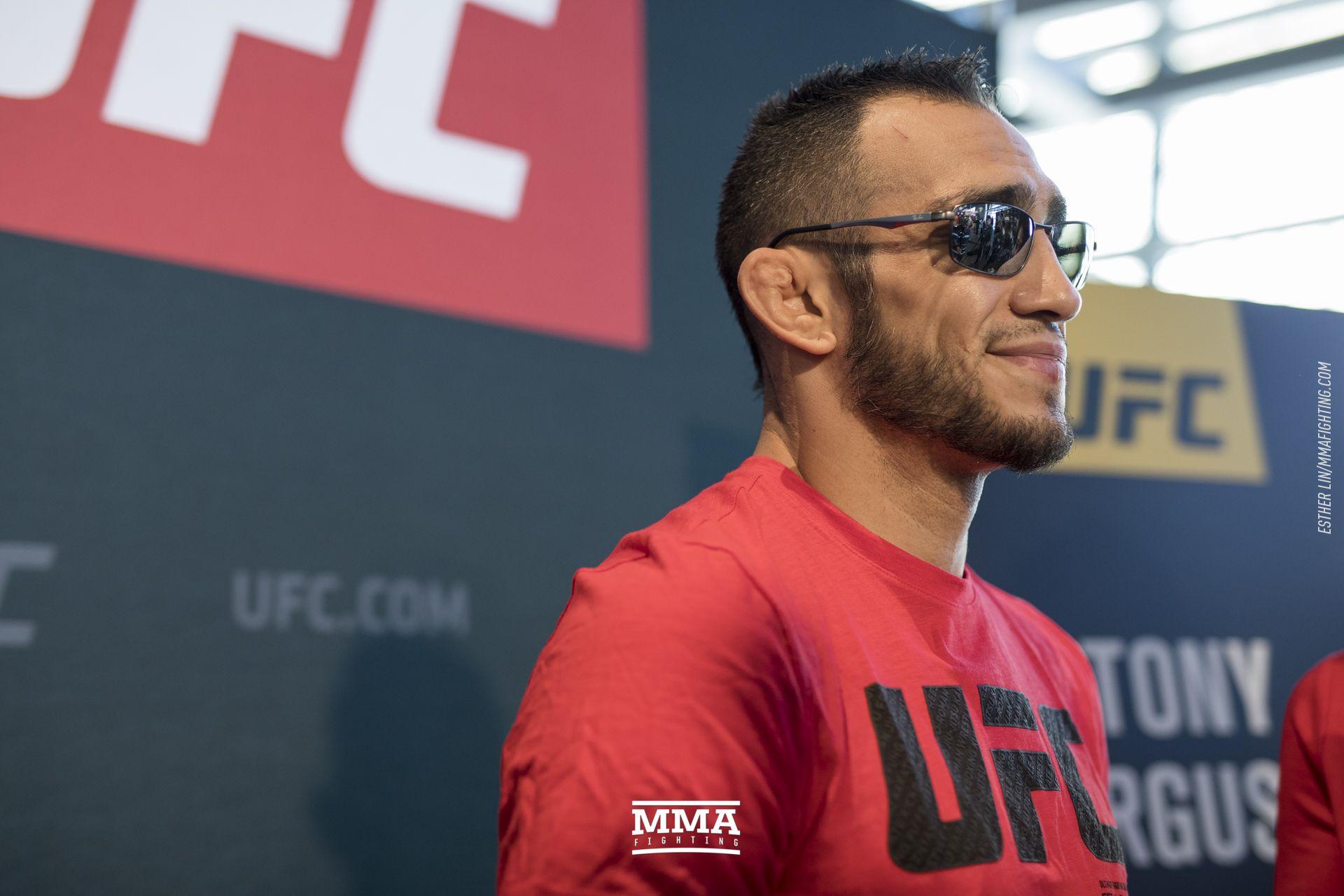 UFC 216 media day photos
