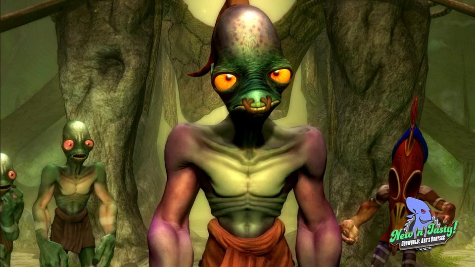 Oddworld New n Tasty coming to PC Mac and Linux