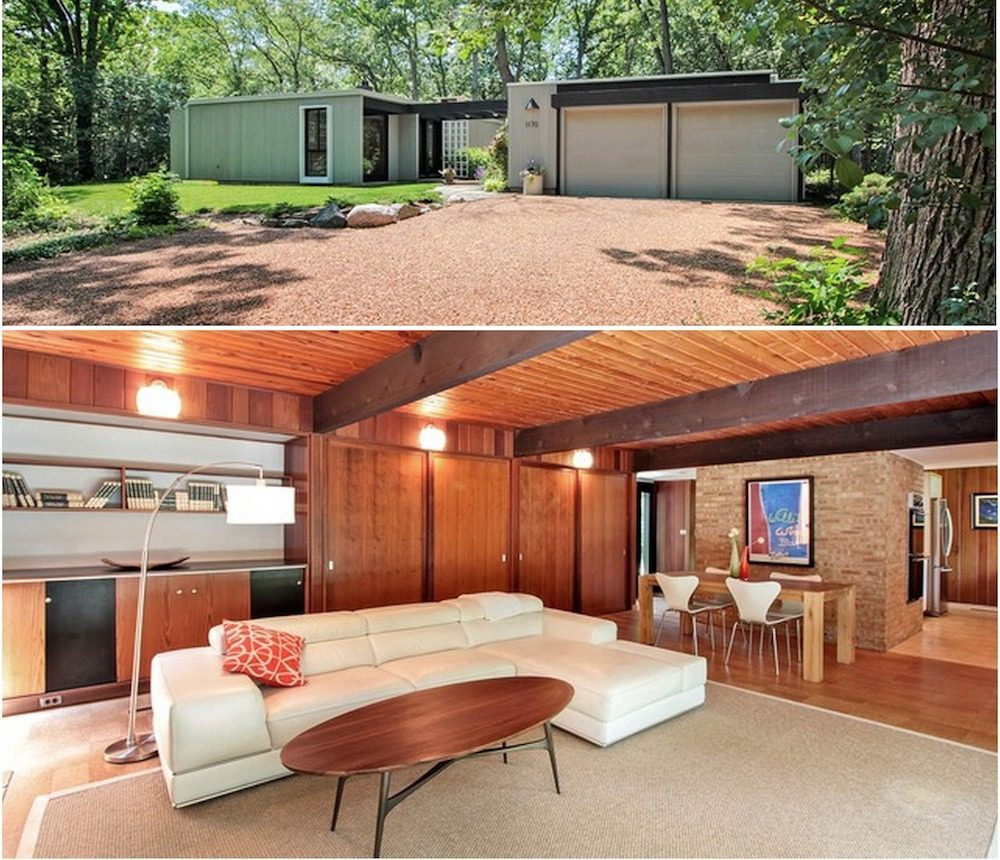 Midcentury modern curbed chicago for Midcentury modern la