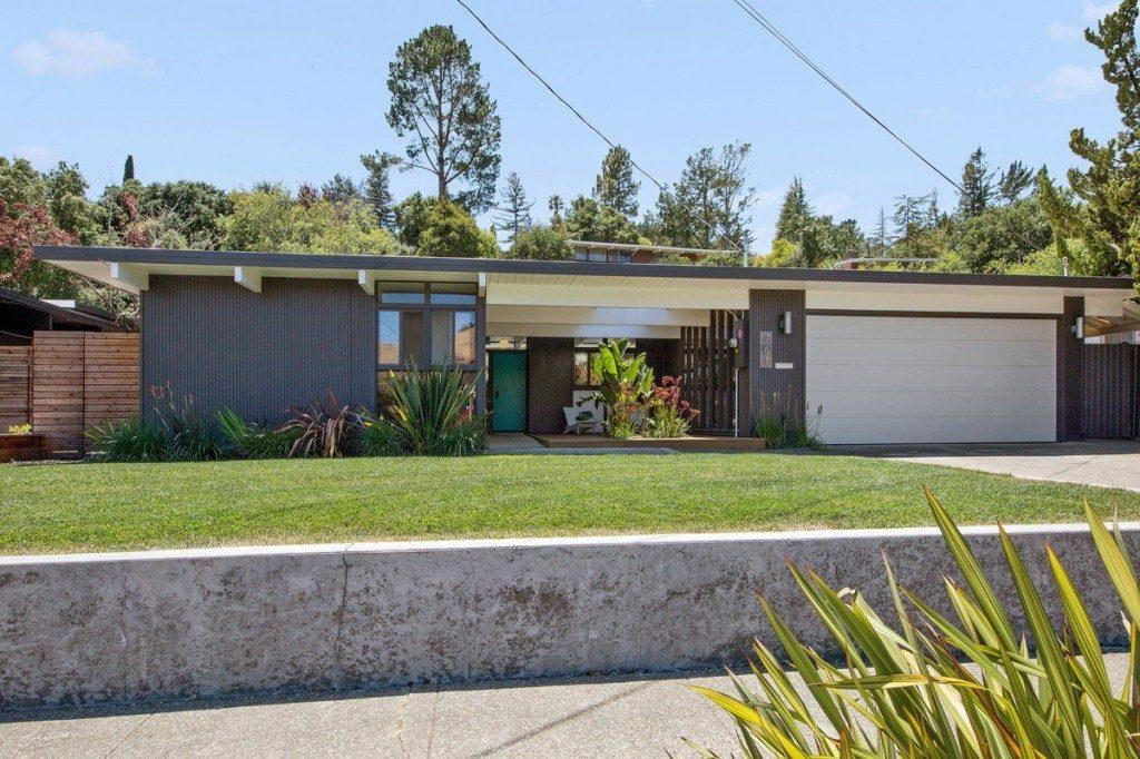 Joseph eichler curbed for Eichler homes for sale