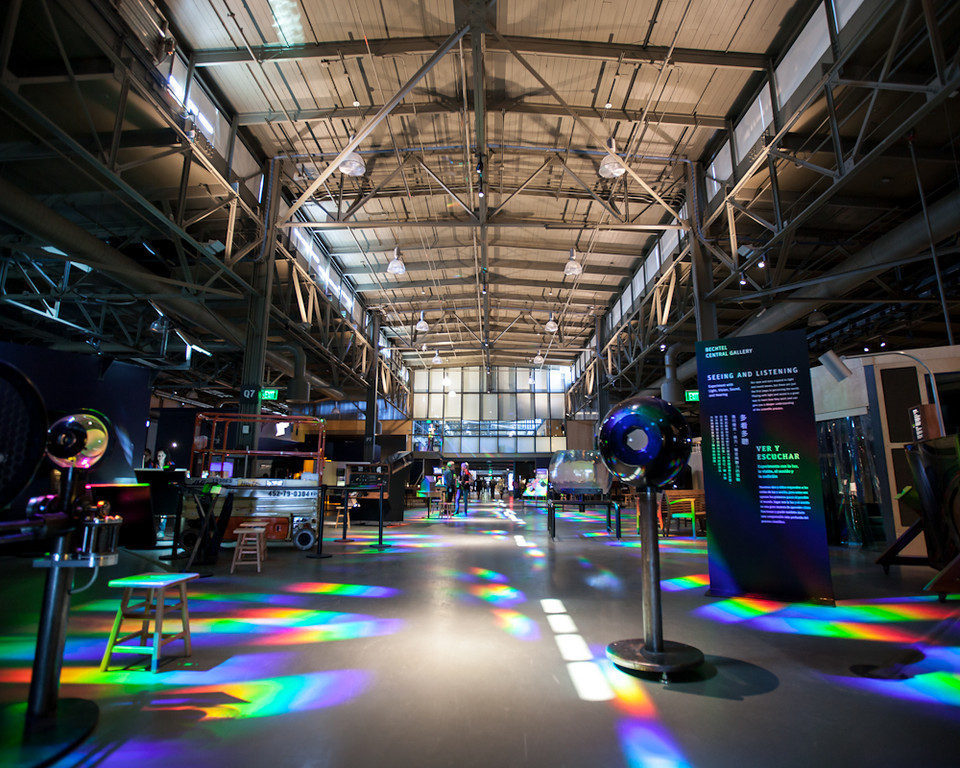 Exploratorium curbed sf for San francisco new museum
