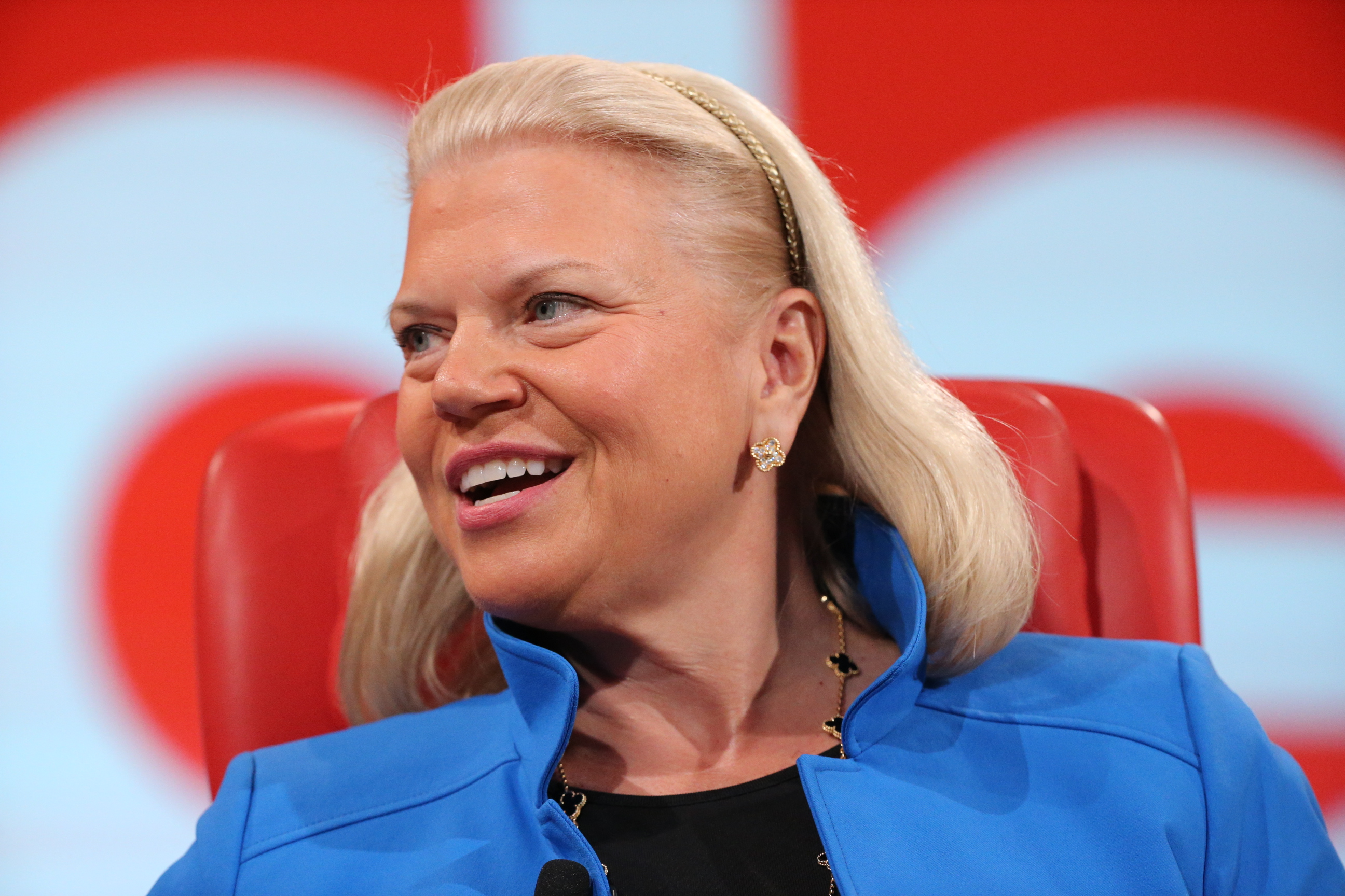 Ginni Rometty, IBM, at Code 2016