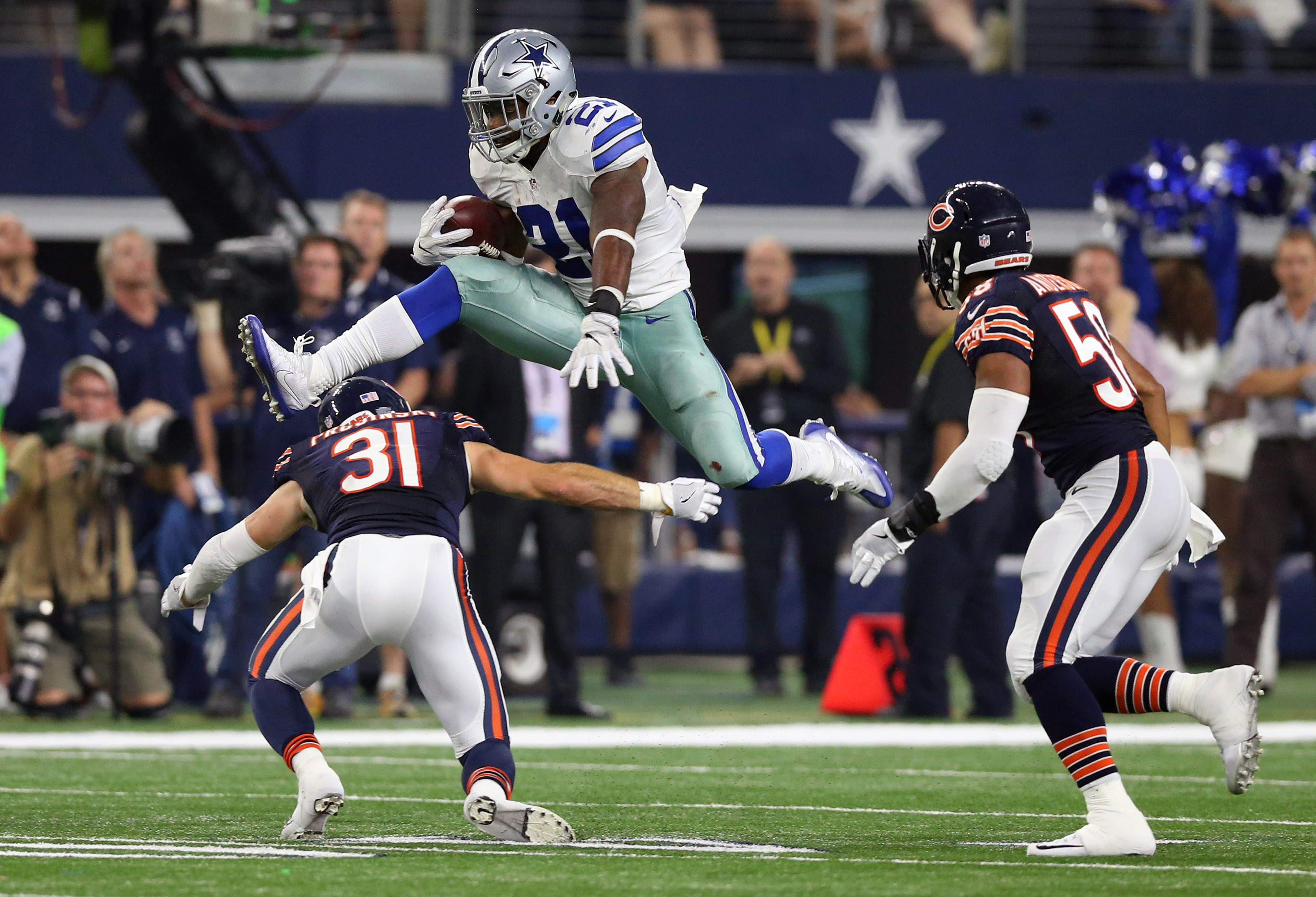 Image result for bears vs cowboys 2016