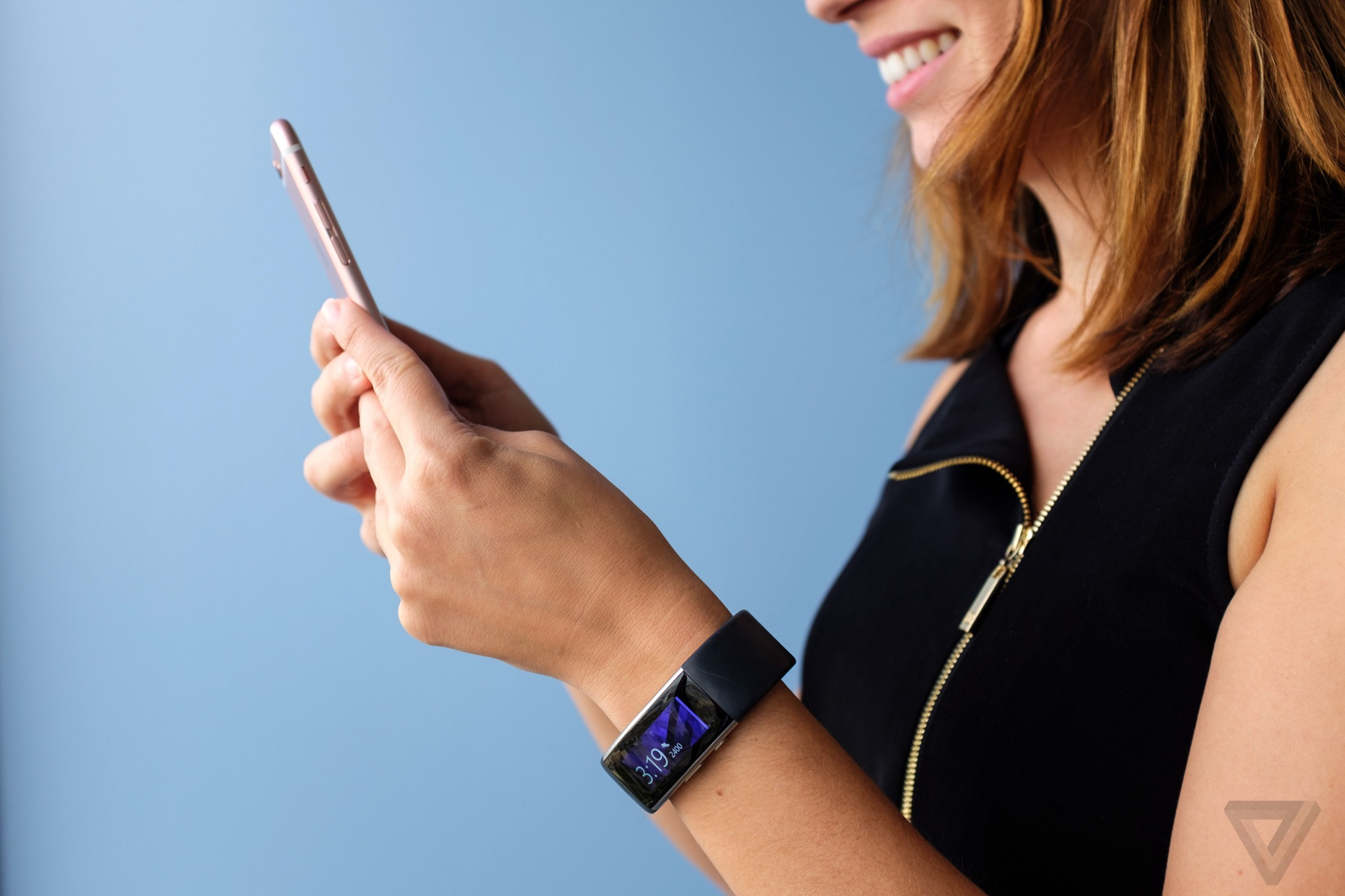 wrist-worn Band fitness tracker