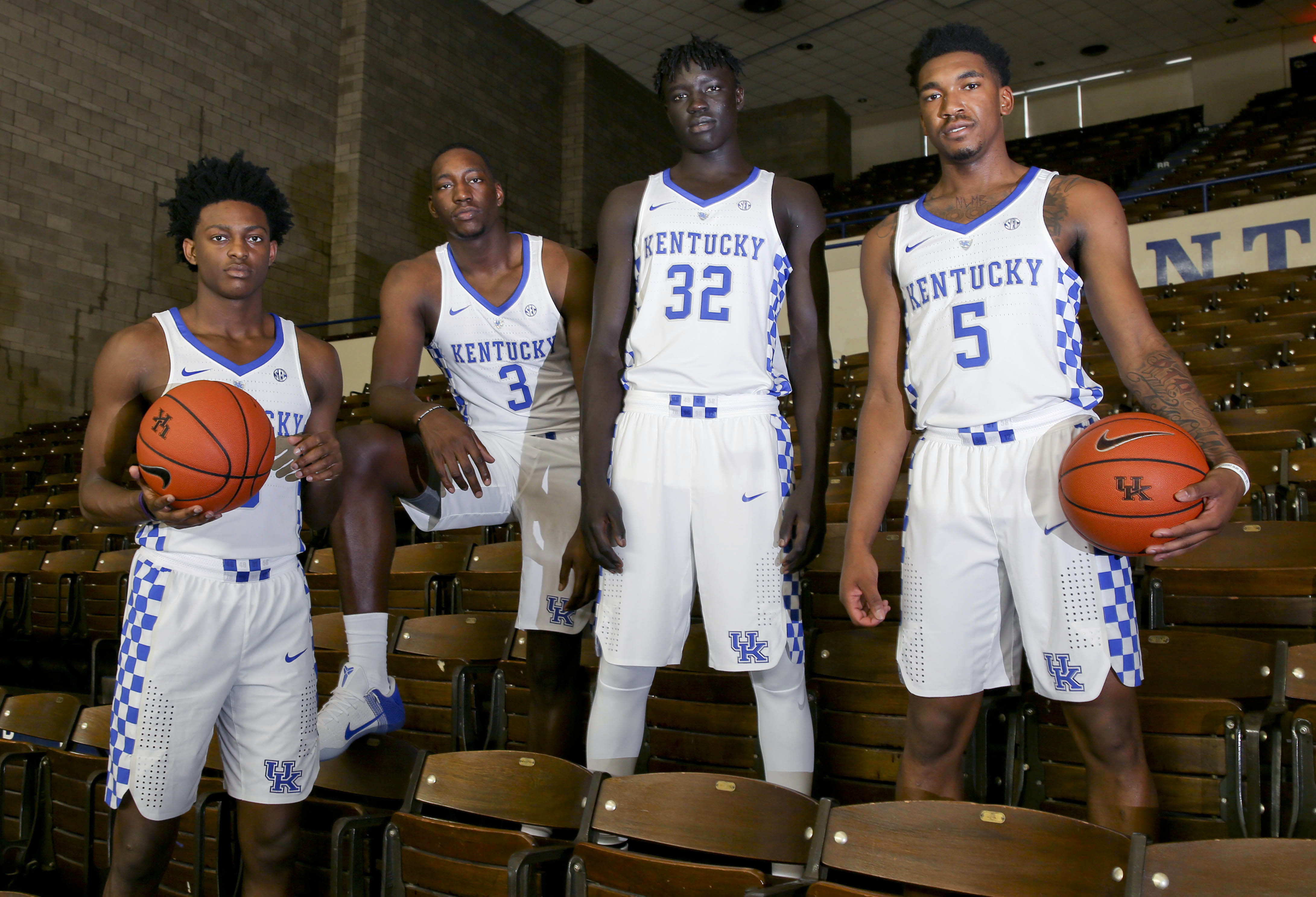 Image result for kentucky wildcats 2017 basketball