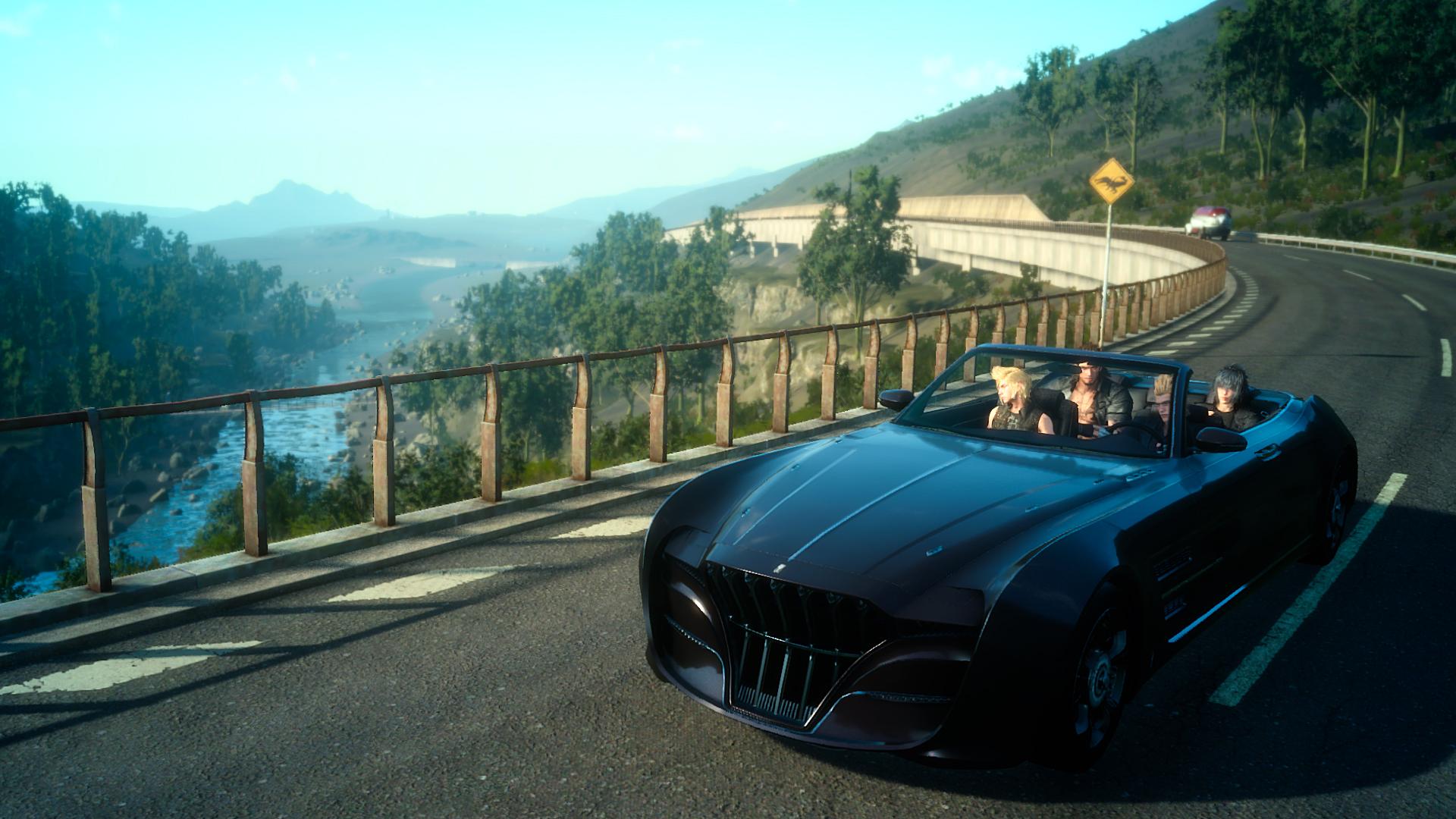 Image result for final fantasy 15 car