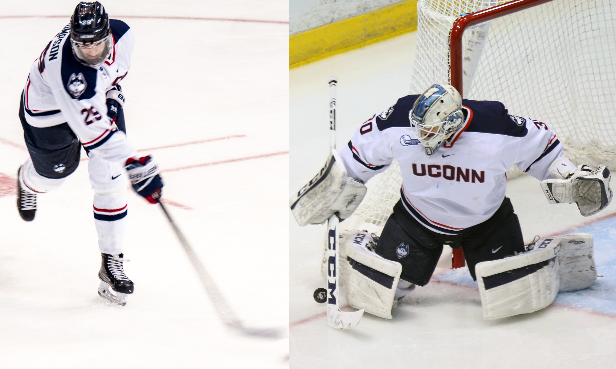 Hockey East: Thompson, Huska To Represent School And Country At WJC
