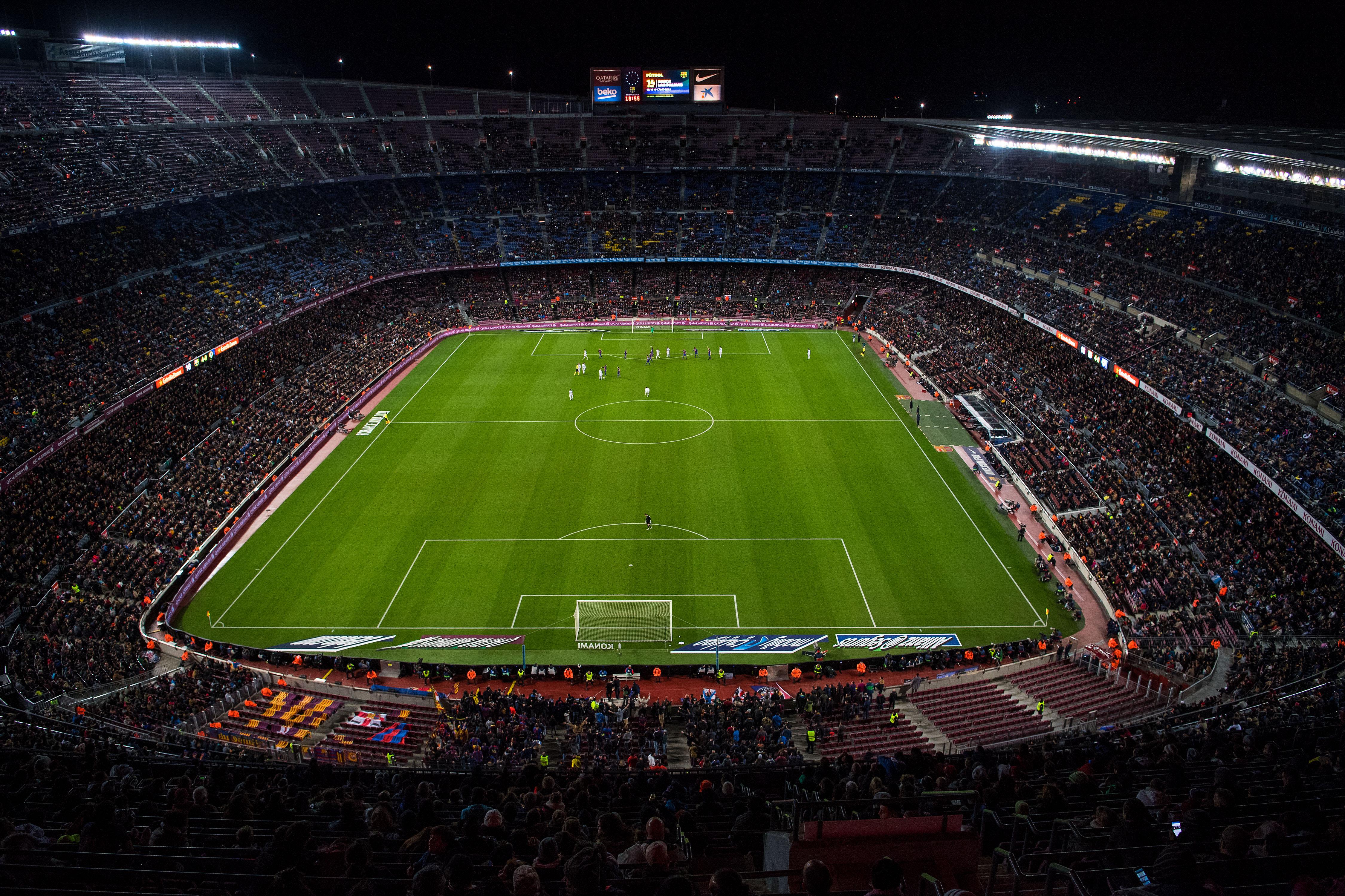 Barcelona Vs Man City Logo: Manchester City Vs Barcelona, 2016 Champions League: Final